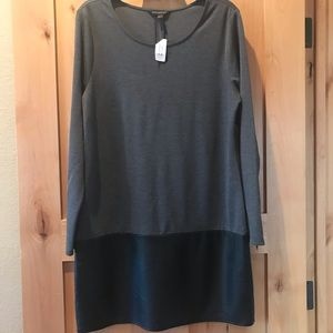 Gray Banana Republic NWT 14 Women's Dress Holiday